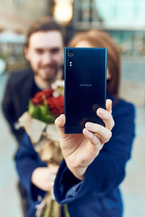 The Sony Mobile Xperia XZ's superior 13MP front facing camera with high resolution allows for incredibly detailed pictures, 'The Future of Selfies' report predicts selfies on superior quality smartphones in the near-future will be able to detect facial body language to identify whether a date finds your attractive
